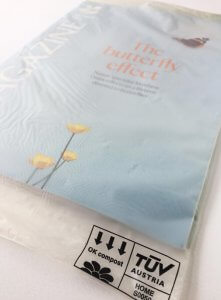 Compostable wrapping for direct mail - National Trust