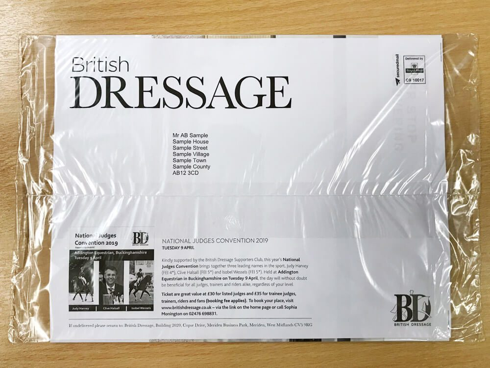 Magazine and Catalogue Wrapping Options - Polywrap