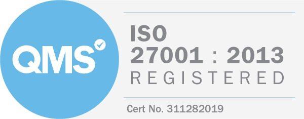 ISO 27001 Registered