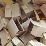 Direct Mail Cardboard Packaging Waste